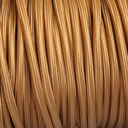 cable textile plat