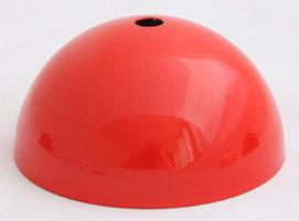 plafonnier rouge